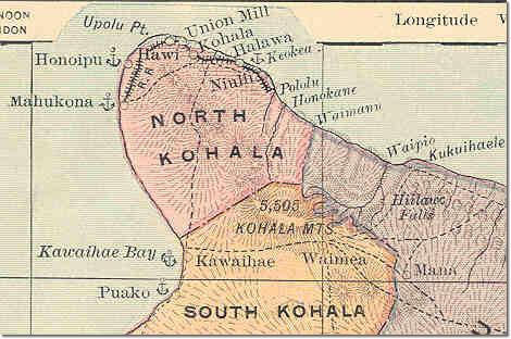Kohala Hawaii Map.Post Office In Paradise Maps Of Hawaii Island Of Hawaii